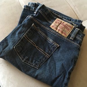 Vintage Express jeans:  precision fit flare